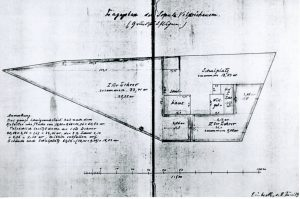 Lageplan Schule 1906