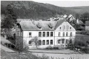 Schule 1953 - Blick vom Papenberg